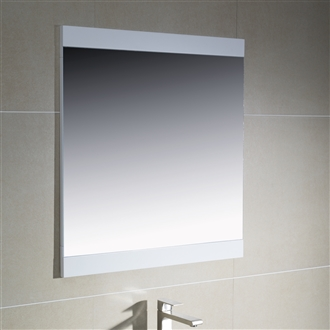 "Mirror with Wood Sides 24"" to 35.5"""