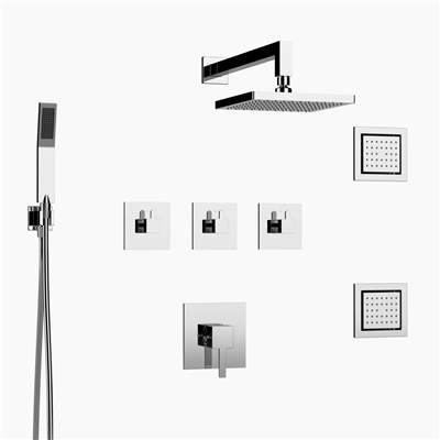 collin three function shower set by inolav
