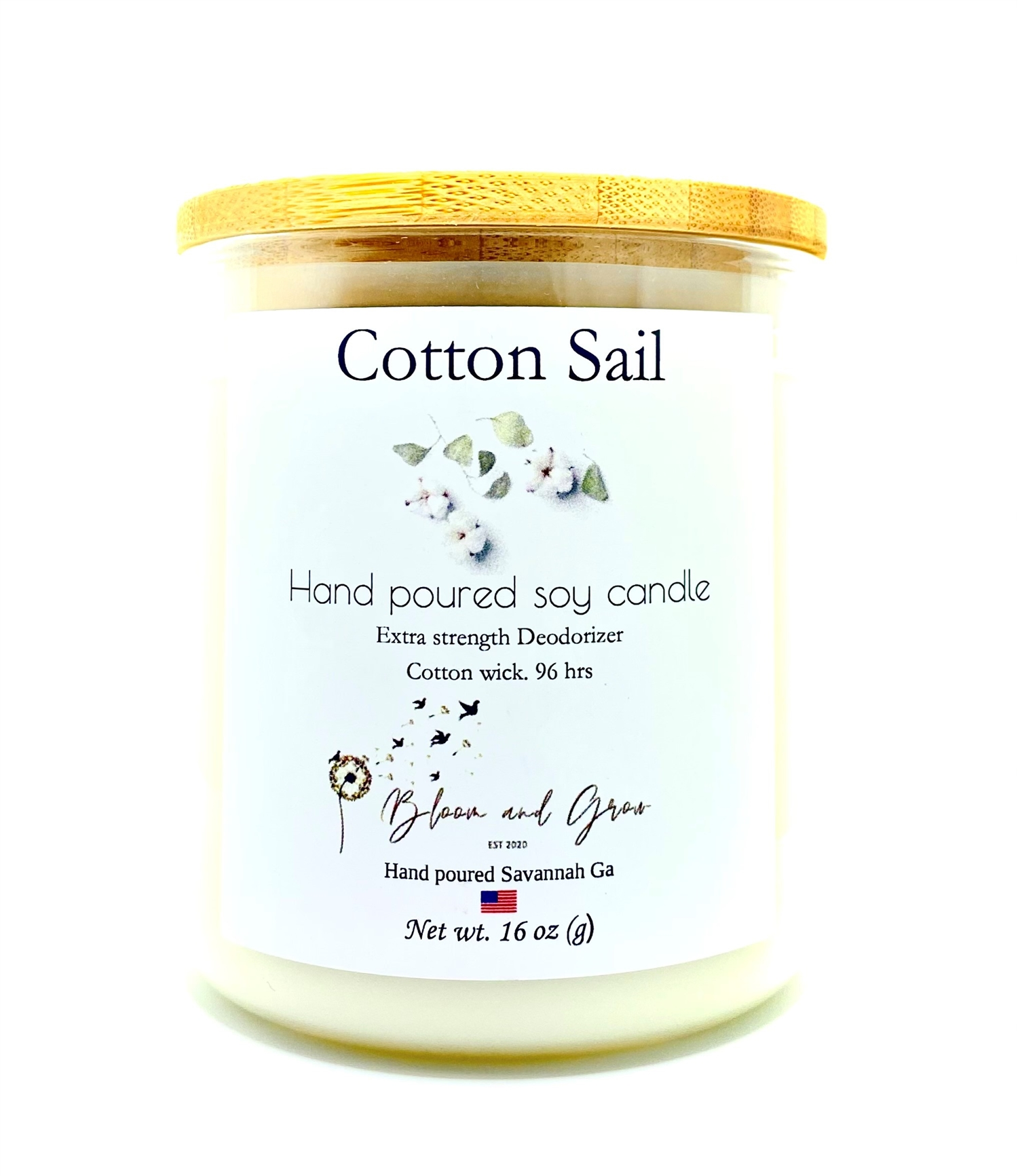 All Natural Soy & Coconut Artisan Candles - 12oz