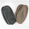 Suede Slipper Sole Brown