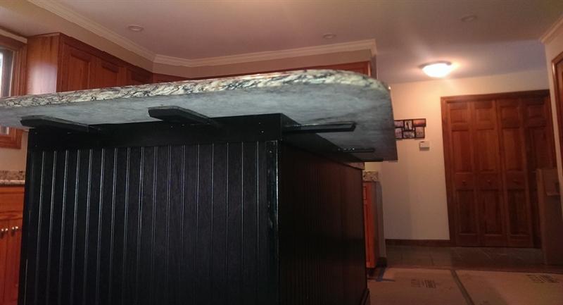 Granite Bracket Standard With 4 Off Set Mounting Holes
