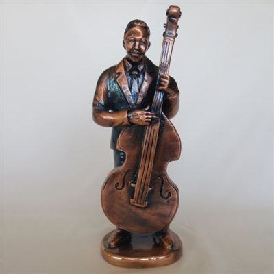 Bass player Bronze finish