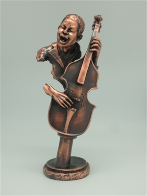 Bass player Bronze finish - 12 inches