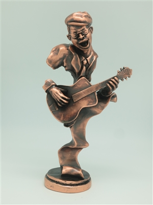 Guitar Player Bronze finish - 12 inches