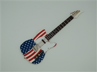 Guitar - Electric USA Flag with case - 7 inches