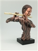 Flute player Bronze finish - 12 inches