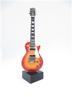 Guitar - Electric style on stand - 9 inches