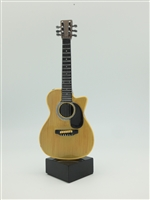 Guitar - Acoustic style on stand - 9 Inches.