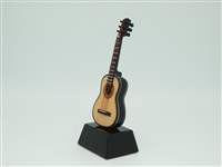 Guitar - Acoustic style on stand - 6 inches