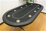 "10 PLAYER 84"" POKER TABLES"