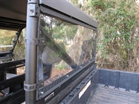 Polaris Ranger Rear Window - 570 Mid Size - Aluminum
