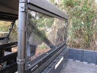 Polaris Ranger XP570, 900, 1000 Surface Hardened Poly Rear Window