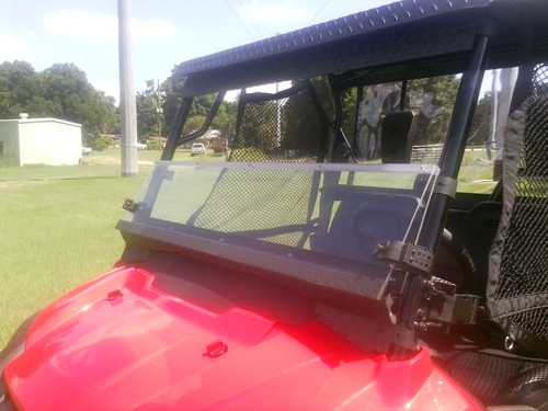 Honda Pioneer Window Folding Front 2014 2015 700