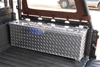 Polaris Ranger Diamond Plate Bed Storage Cargo Box