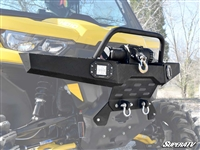 Can-Am Defender Diamond Plate Front Bumper SuperATV
