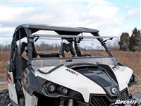Can-Am Maverick Scratch Resistant Flip Windshield Window - SuperATV