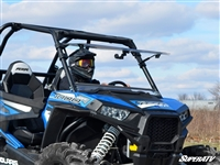 Polaris RZR 900, Turbo, 1000 Flip Up Front Windshield by SuperATV