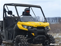 Can-Am Defender Surface Hardened Half Window by SuperATV