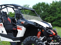 Can-Am Maverick Scratch Resistant Half Windshield - SuperATV