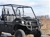 Kawasaki Mule PRO FX, DX, FXT, DXT Half Fixed Scratch Resistant Windshield SuperATV