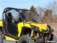Can-Am Commander Scratch Resistant Full Windshield Window - SuperATV
