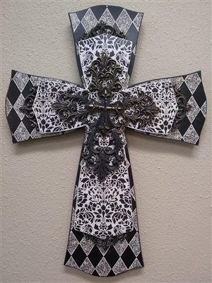 Layered Wooden Celtic  Cross