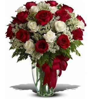 Love's Divine Bouquet - Long Stemmed Roses -
