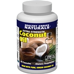 Coconut Oil Capsule Supplement, 2000mg