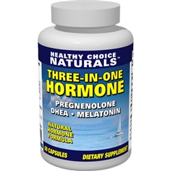 Three-In-One Hormone Supplement, dhea supplement, pregnenolone supplement