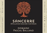 Domaine Pascal Balland Sancerre Blanc 2018 (Loire Valley, France) (750ml)