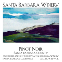 Santa Barbara Winery Pinot Noir Santa Barbara County 2016 (California, United States) (750ml)