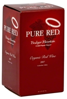 Badger Mountain Organic Pure Red Columbia Valley 2018 (Washington, United States) (750ml)