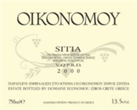 Domaine Economou Sitia 2004 (Crete, Greece) (750ml)