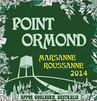Point Ormond Upper Goulburn Viognier Roussanne 2018 (Victoria, Australia) (750ml)