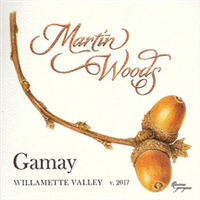 Martin Woods Gamay Willamette Valley 2017 (Oregon, United States) (750ml)