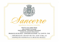 Domaine Sautereau Sancerre 2018 (Loire Valley, France) (750ml)