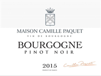 Camille Paquet Bourgogne Pinot Noir 2017 (Burgundy, France) (750ml)