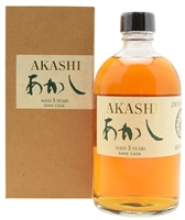 Eigashima Distillery Akashi 3 Year Old White Oak Sake Cask Single Malt Whisky (750ml)