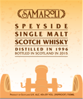 Samaroli Speyside Scotch Whisky 1996 (750ml)