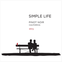 Simple Life Winery Pinot Noir 2018 (California, United States) (750ml)