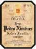 Bodegas Gutiérrez Colosia Pedro Ximénez Solera Familiar NV (Andalucía, Spain) (750ml)