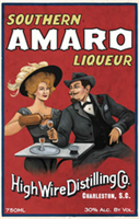 High Wire Distilling Company Southern Amaro Liqueur (200ml)