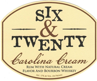 Six & Twenty Distillery Carolina Cream (750ml)