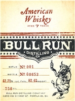 Bull Run Distilling Company American Whiskey (750ml)