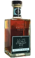 A.D. Laws Secale Straight Rye Whiskey Bottled in Bond (750ml)