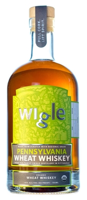 Wigle Small Cask Allegheny Wheat Whiskey (750ml)