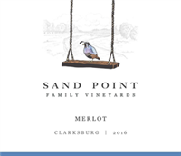 Sand Point Family Vineyards Merlot Clarksburg 2017 (California, United States) (750ml)
