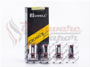 UWELL Crown III Replacement Atomizers (4-pack)