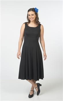 Hannah Sleeveless Scoop Swing Dress
