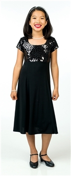 *NEW* Annika Scoop Neck Show Choir Dress- Youth